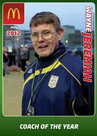 Wayne Jeremiah - FAW Coach of the Year 2012