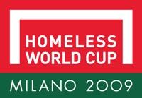 Homeless World Cup Milan 2009 logo