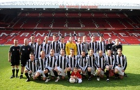 Drumchapel United FC at Old Trafford