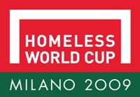 Homeless World Cup Milan logo