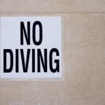 No diving (web)