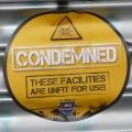 Club Website 'condemned' sticker