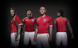 England away kit launch