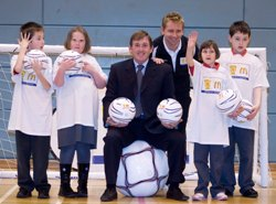Kenny Dalglish is a patron of the Scottish FA's Disability Programme