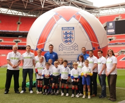 England Football Day launch at Wembley