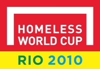Rio 2010 Homeless World Cup logo