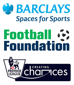 Barclays Spaces for Sport and partner logos