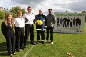 Football needs teachers, prison officers, naval officers, firefighters and singers