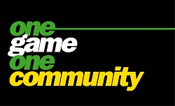 Kick It Out's One Game One Community logo