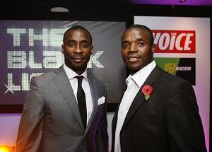 (l-r) Jason Roberts and Aaron Mokoena (right)